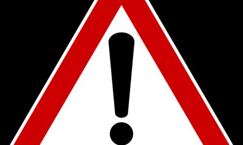 Achtungzeichen