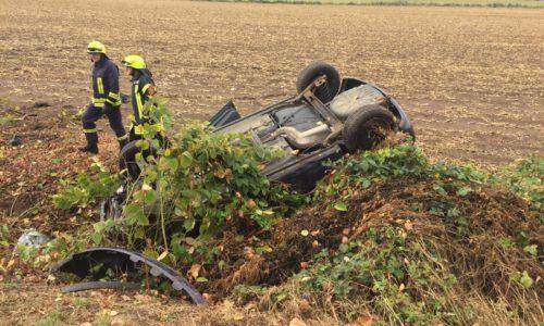 Verkehrsunfall auf L480 Richtung Betheln