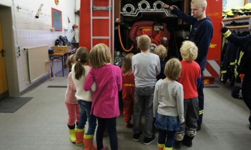 Besuch des Kinderhorts Nordstemmen